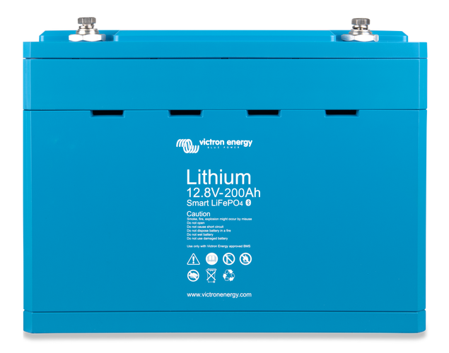 Victron LiFePO4 Battery 12.8V 200Ah Smart BAT512120610