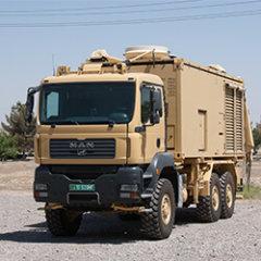 Robuste Fahrzeuggeneratoren für das Militär