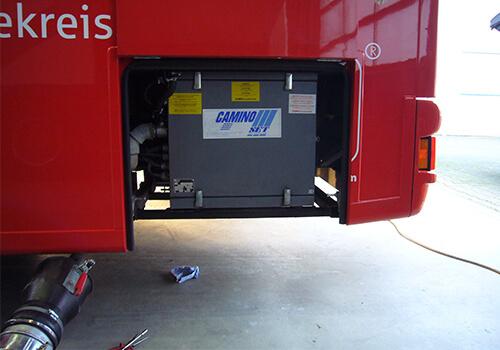Camino Einbau Geräte von SET Stromerzeuger